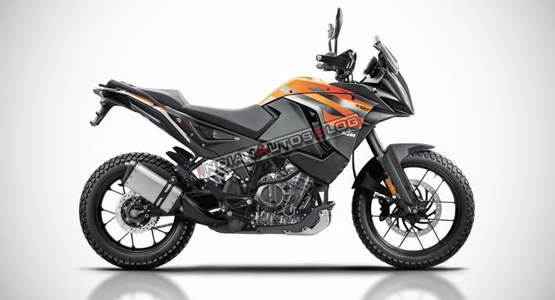 Mẫu xe được dự đoán là KTM 490 Adventure