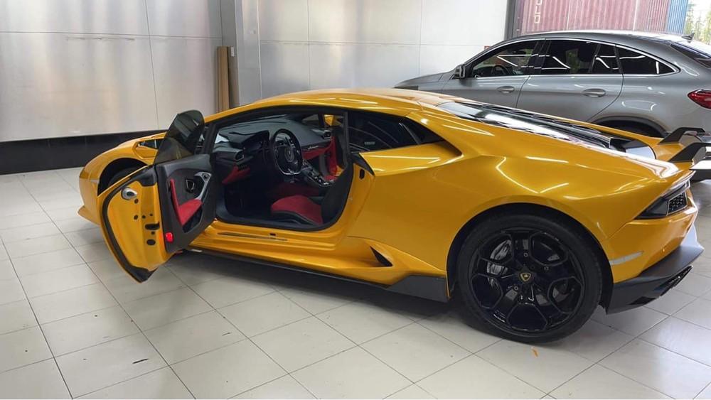 Diện mạo chiếc siêu xe Lamborghini Huracan LP610-4 mới về Bạc Liêu định cư