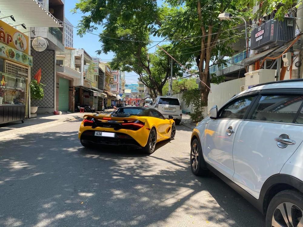 Siêu xe McLaren 720S Spider của thiếu gia Rich kid ở Đà Nẵng được bố mua tặng đã có biển số