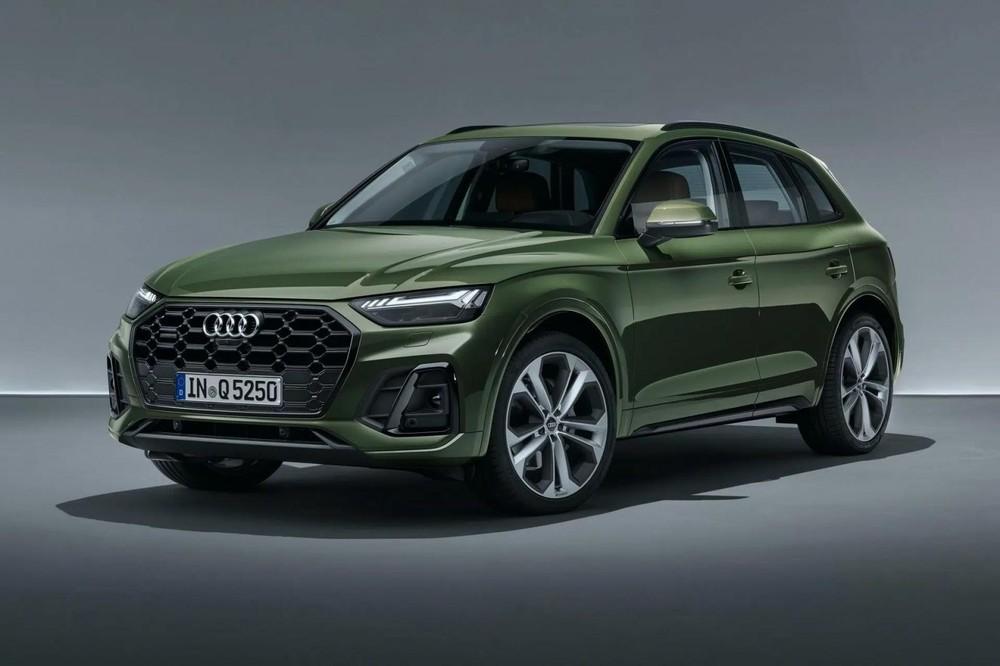 Không khó nhận ra đây chính là Audi Q5 2021.