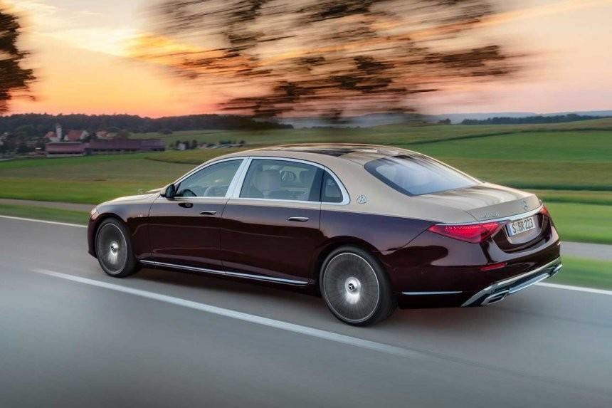 Mercedes-Maybach S680 2021 dài hơn nhiều so với S-Class thông thường