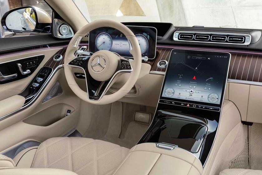 Nội thất bên trong Mercedes-Maybach S680 2021