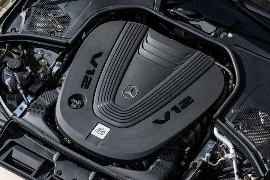 Động cơ của Mercedes-Maybach S680 2021