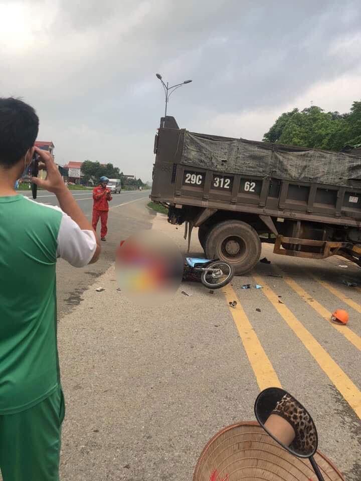 1 người tử vong tại chỗ trong vụ tai nạn này