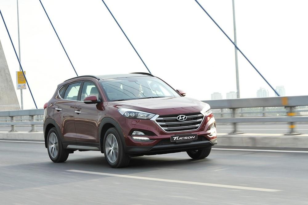 Trong số xe bị triệu hồi có cả những chiếc Hyundai Tucson thuộc bản nâng cấp giữa vòng đời mới nhất.