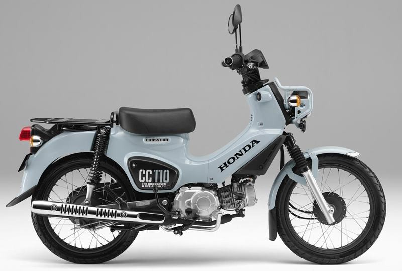 Phiên bản đặc biệt màu Puco Blue trên Honda Cross Cub 110 2021