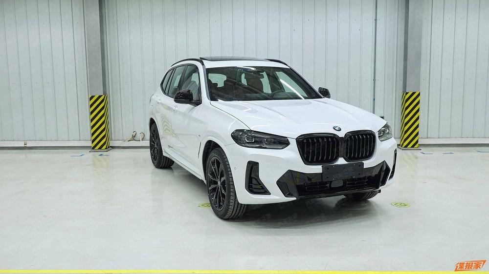 BMW X3 2022 rò rỉ thiết kế