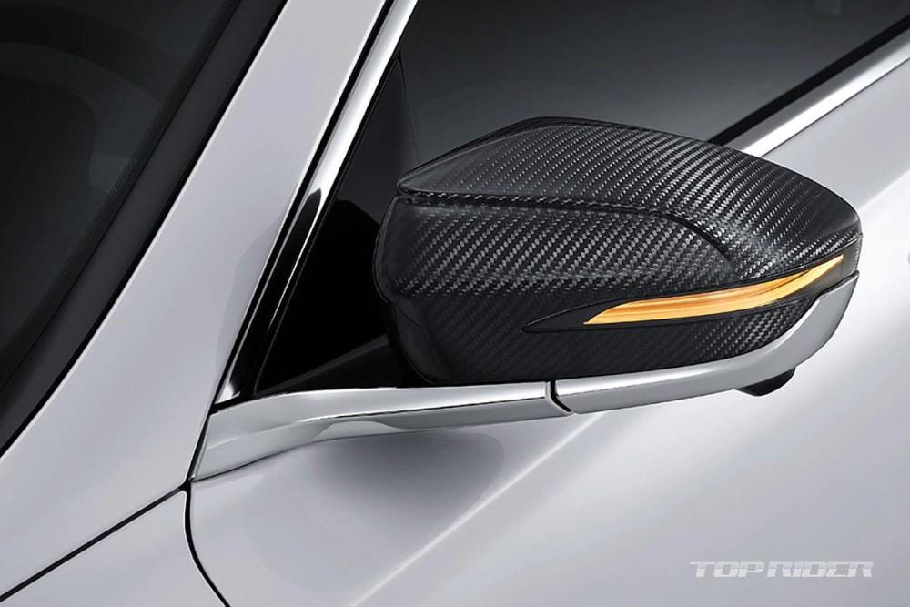 Ốp gương ngoại thất của Hyundai Grandeur Le Blanc 2021