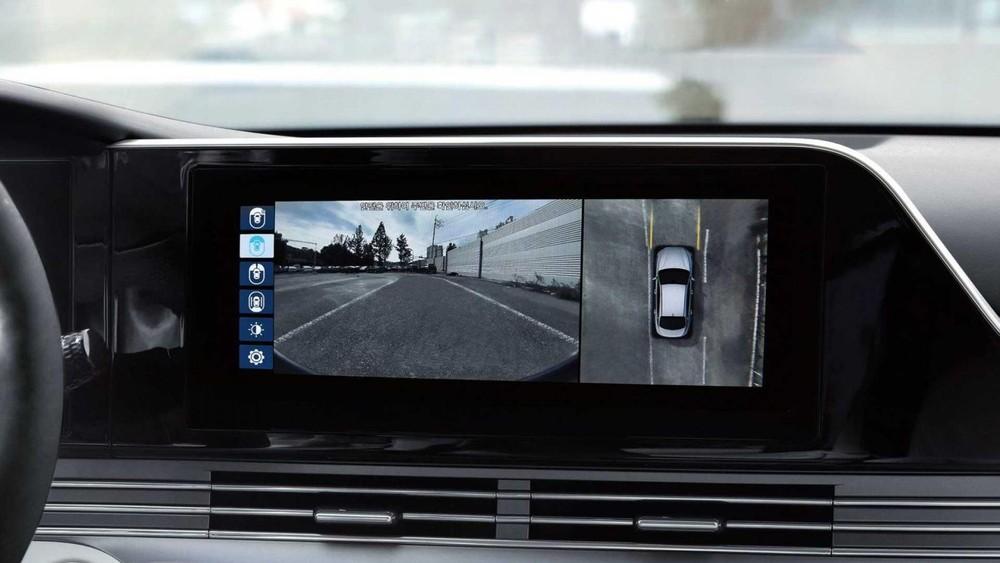 Camera 360 độ của Hyundai Grandeur Le Blanc 2021