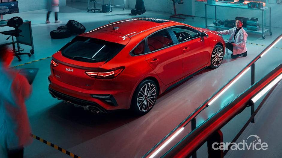 Kia Cerato GT 2021 sẽ mang kiểu dáng hatchback