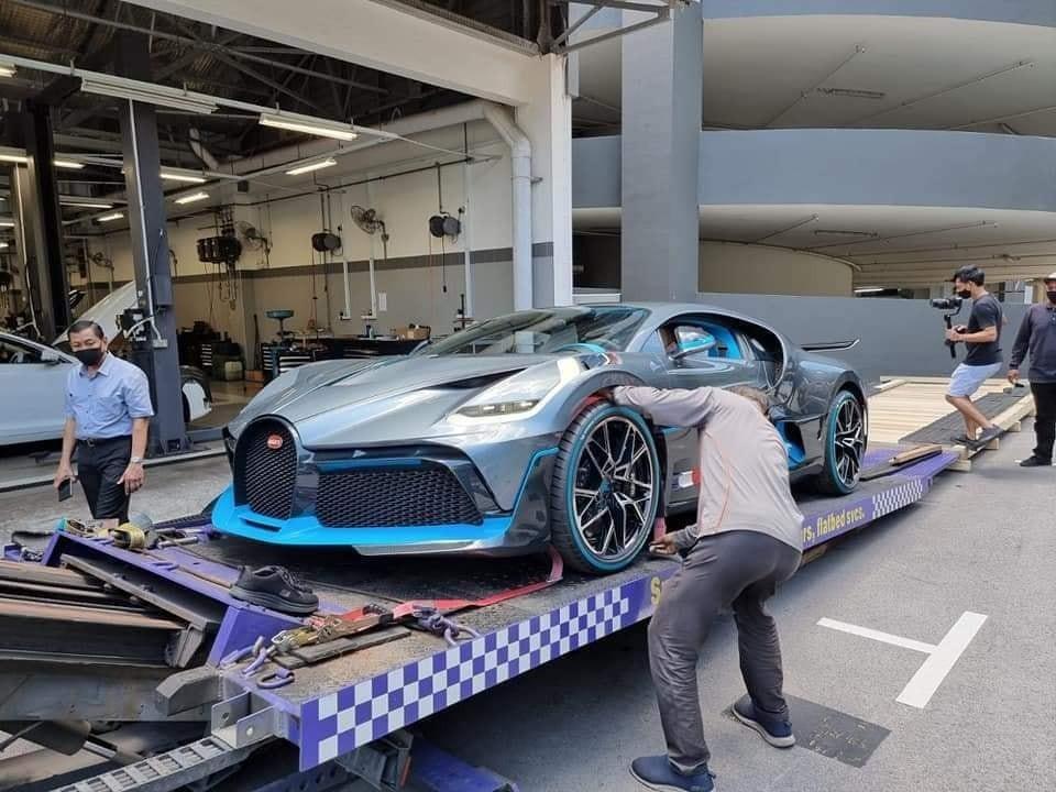 Hiện chiếc siêu xe Bugatti Divo đã về đến Malaysia