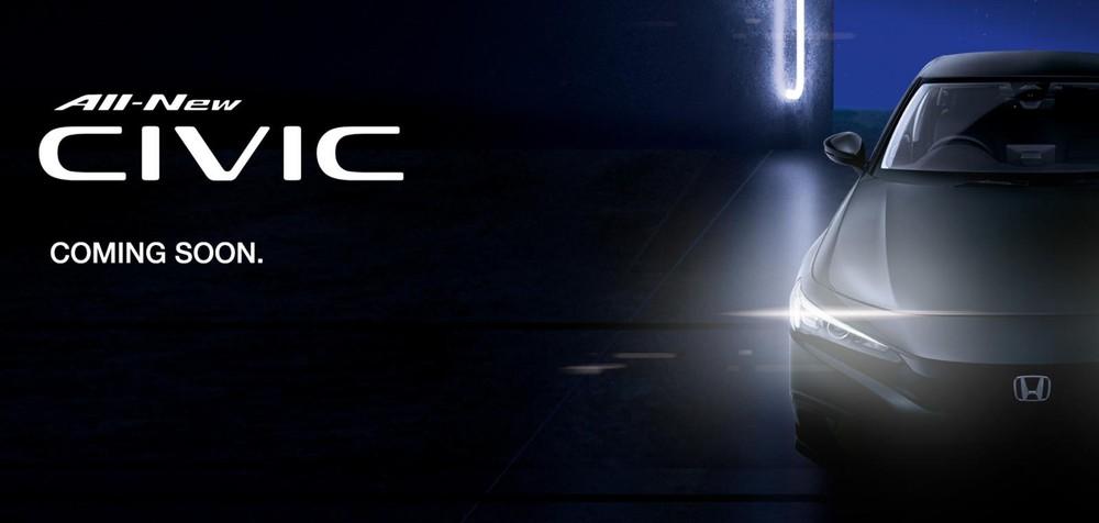 Honda Singapore hé lộ việc Civic 2022 sắp ra mắt thị trường này