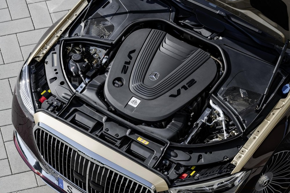 Động cơ của Mercedes-Maybach S680 2022