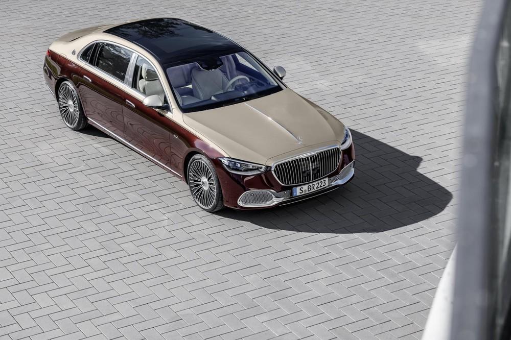 Mercedes-Maybach S680 2022 được bán tại châu Âu trước