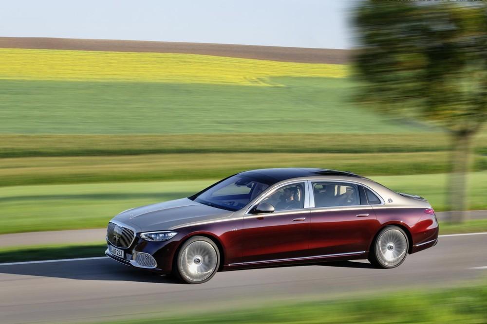 Mercedes-Maybach S680 2022 tăng tốc từ 0-96 km/h trong 4,4 giây