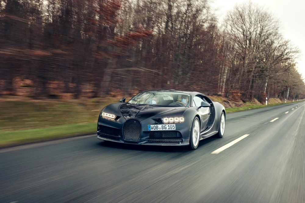Siêu xe Bugatti Chiron nguyên mẫu mang mã số 4-005