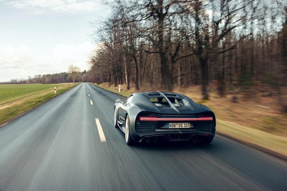 Chiếc xe này được dùng để thử nghiệm các tính năng sẽ áp dụng cho Bugatti Chiron bán ra thị trường