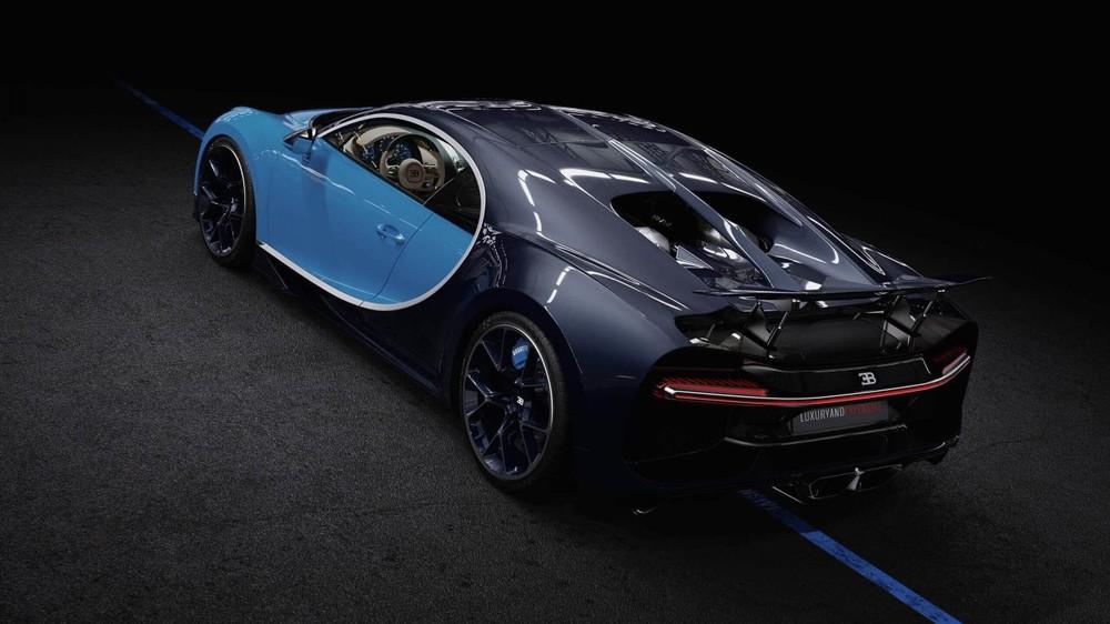 Bugatti Chiron có tốc độ tối đa 420 km/h