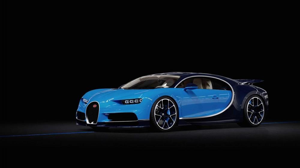 Đây là màu sơn tiêu chuẩn của Bugatti Chiron