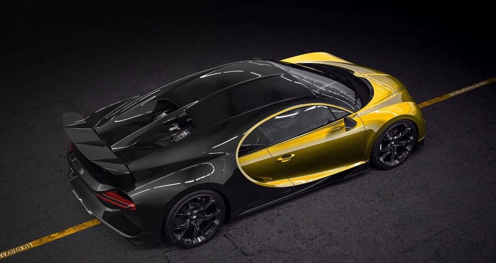 Siêu phẩm Bugatti Chiron có nhiều màu sơn tuỳ chọn