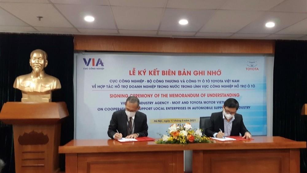 Lễ kí kết được diễn ra vào ngày 17/5 vừa qua tại Hà Nội.