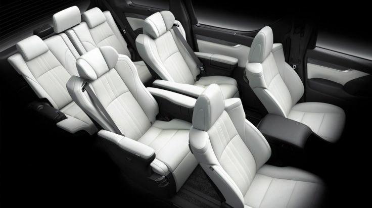 Cấu hình 7 chỗ của Lexus LM 350 2021.