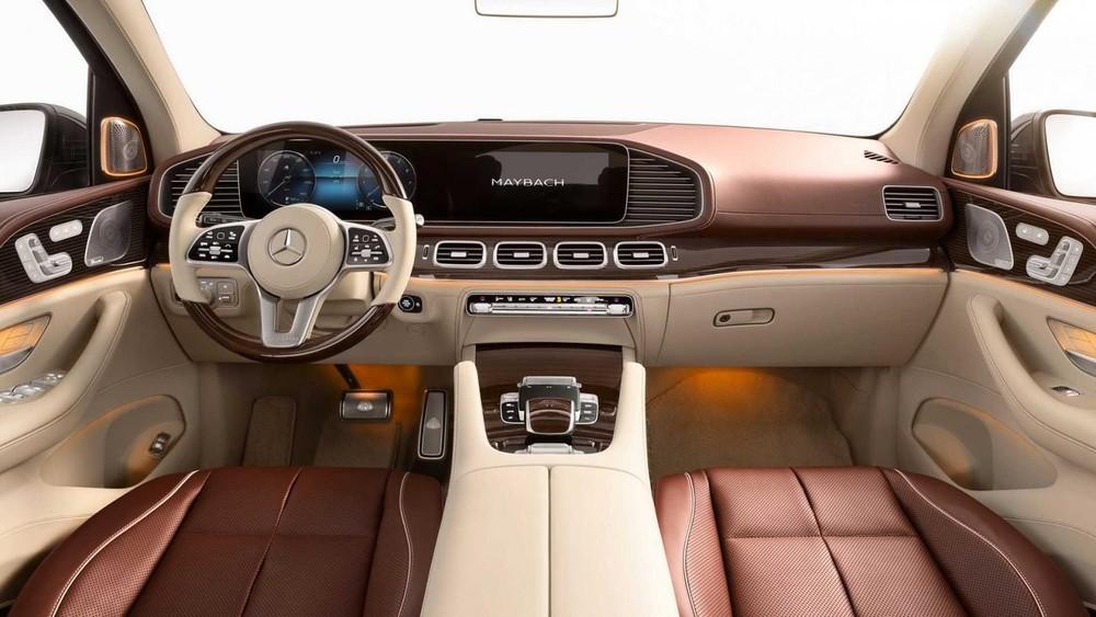 Khoang lái của Mercedes-Maybach GLS 2021
