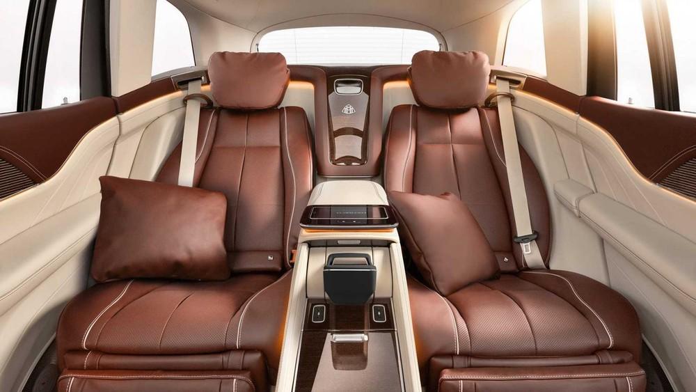 2 ghế thương gia của Mercedes-Maybach GLS 2021