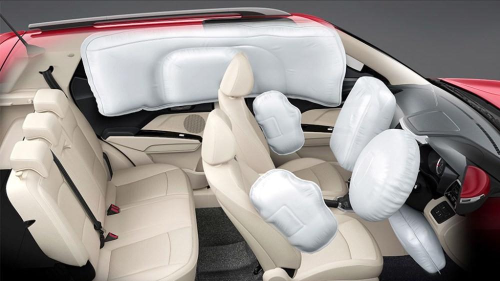 Các trang bị an toàn khiến ô tô hiện đại ngày càng nặng