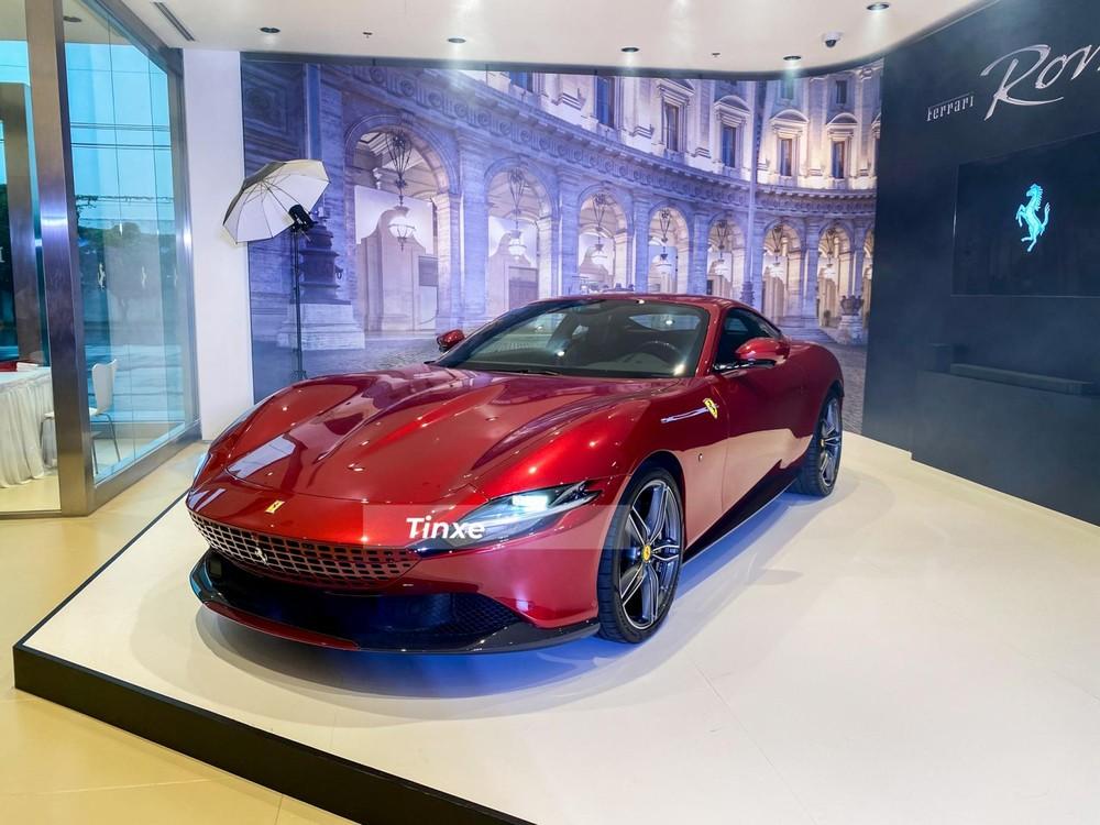 Siêu xe Ferrari Roma có giá bán chính hãng 20,7 tỷ đồng