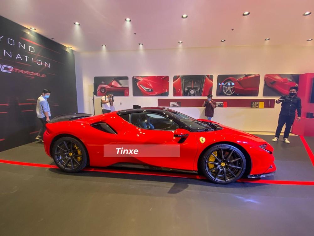 Siêu xe Ferrari SF90 Stradale đang nhận được rất nhiều sự quan tâm của doanh nhân Việt