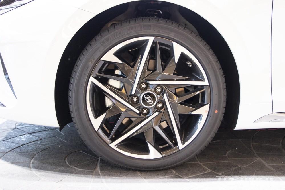 Bộ vành của Hyundai Grandeur Le Blanc 2021