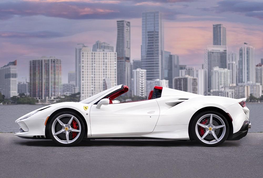 Ferrari F8 Spider đang là siêu xe mui trần V8 đầu bảng của hãng xe Ý