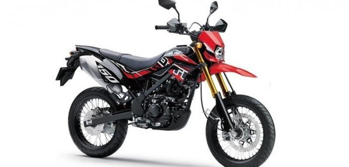 Kawasaki D-tracker 150 màu đỏ mới 2021