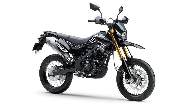 Kawasaki D-tracker 150 2021 màu đen