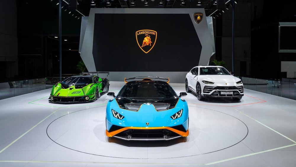 Các sản phẩm xe Lamborghini