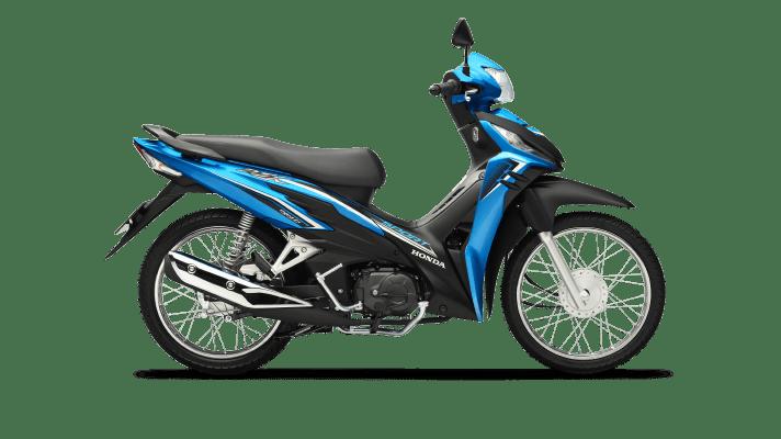 Honda Wave RSX Vành nan Phanh cơ xanh