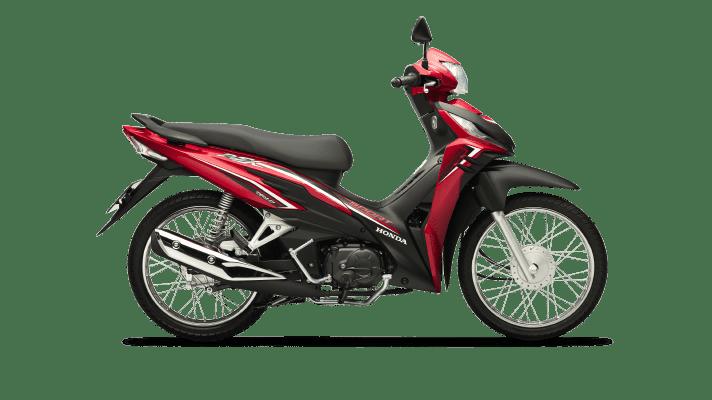 Honda Wave RSX Vành nan Phanh cơ đỏ