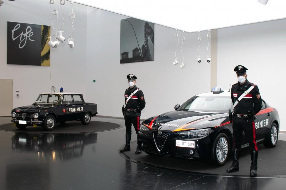 Hình ảnh tại sự kiện Alfa Romeo giao Giulia bọc giáp cho lực lượng Carabinieri