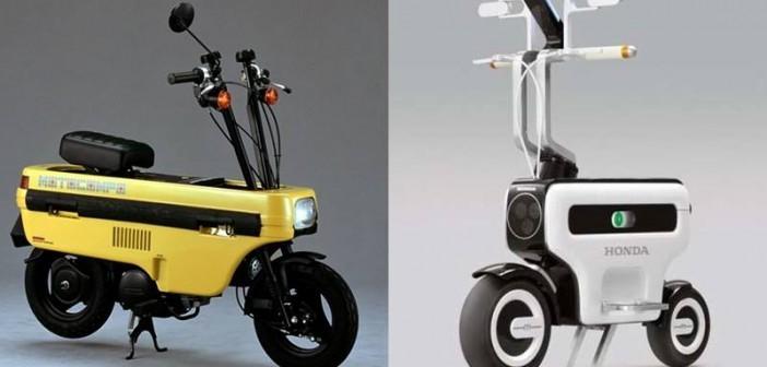 Honda MotoCompo (trái) sẽ được sản xuất thành xe điện trong tương lai?