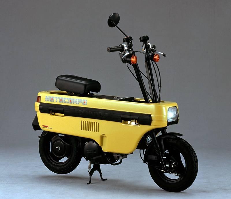 Mẫu xe đặc biệt của Honda có thân hình cực kỳ gọn gàng và khả năng gấp lại thành một chiếc hộp
