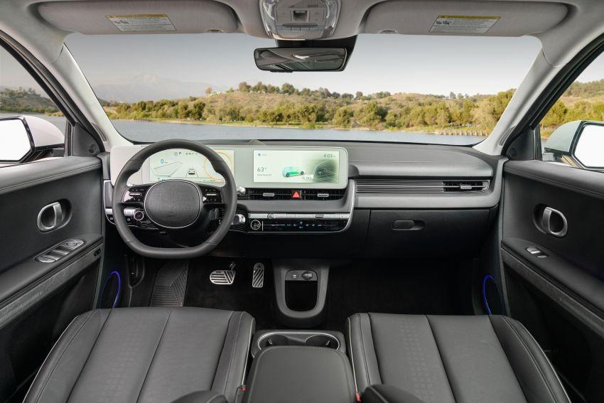 Hyundai Ioniq 5 2021 có 2 màn hình 12,3 inch