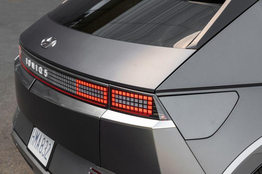 Đèn hậu Parametric Pixel của Hyundai Ioniq 5 2021