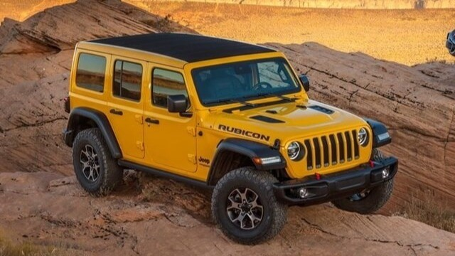 Giá xe Jeep Wrangler