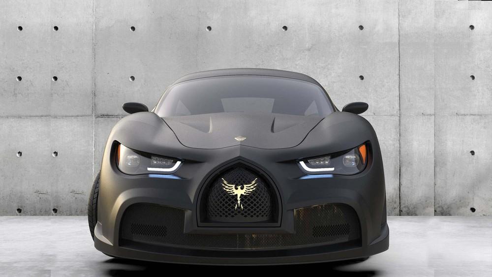 Đầu xe của EV Electra Quds Rise