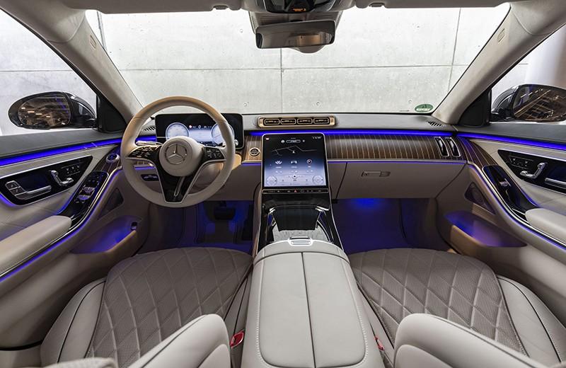 Nội thất sang trọng của Mercedes-Benz S-Class 2021