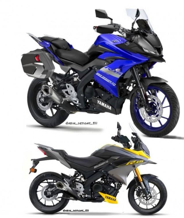 Thiết kế giúp mẫu Sport bike cỡ nhỏ có khả năng di chuyển việt dã tốt hơn