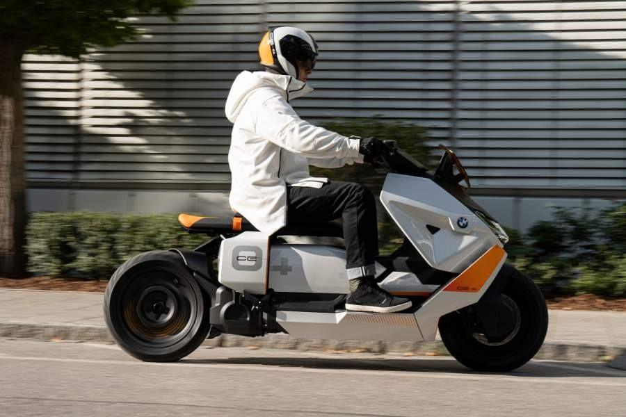 Concept BMW CE 04 được giới thiệu cuối năm 2020