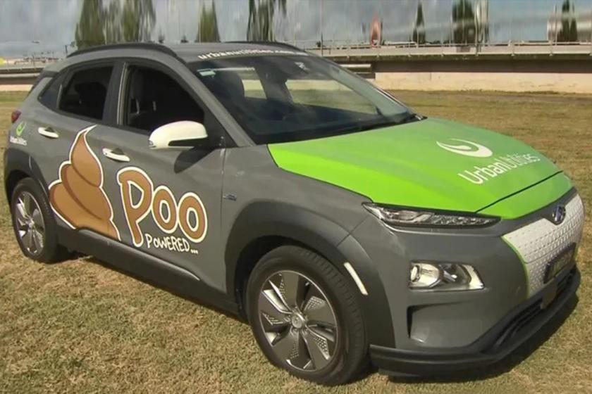 Chiếc Hyundai Kona Electric này đang góp phần tạo một thế giới không chất thải
