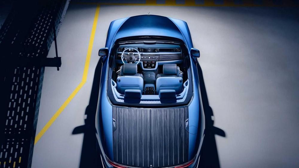 Rolls-Royce Boat Tail lấy cảm hứng từ đại dương
